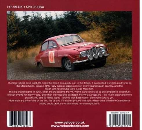 Saab 96 Buch, für Fans, zur Ergänzung der Bibliothek
