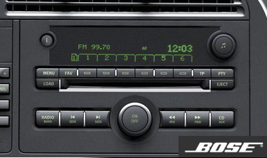 Saab Infotainment CD changer Bose