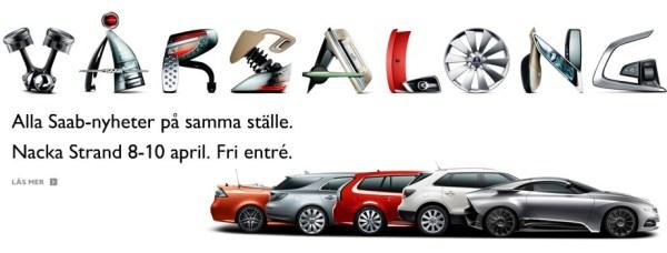 """Saab Neuheiten 2011, 08.04.bis 10.04.2011 """"Nacka Strand"""""""