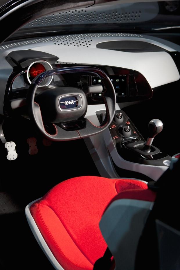 Saab Phoenix Concept Car, Innenraum