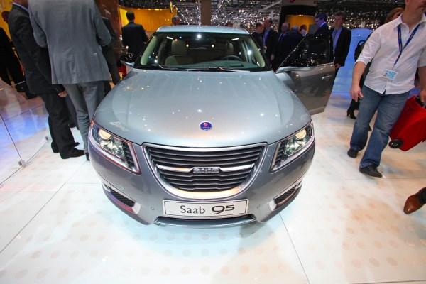 """Jetzt ist die """"offizielle"""" Premiere, Saab 9-5 SportCombi in Genf"""