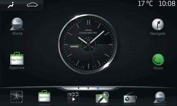 Saab Multimedia Zukunft, basierend auf Google Android OS