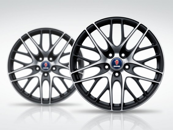 """Exclusive: Saab 9-3 Independence Day 18 """"Two-tone rims"""