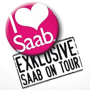 Saab Roadshow Schweiz 15. bis 19. März 2011