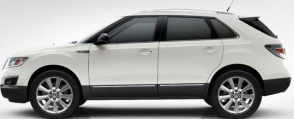 Saab 9-4x Icepearl Metallic