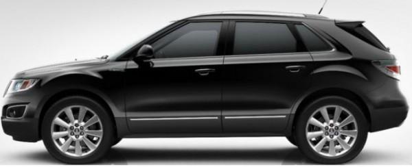 Saab 9-4x Zodiac Black Metallic