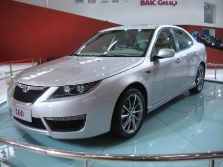 Saab Verwandschaft aus China - BAIC C60