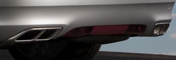 Son sur quatre tuyaux: Hirsch Système d'échappement en acier inoxydable pour Saab 9-5
