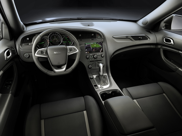 Интерьер Saab 9-4x