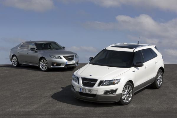 Saab 9-4x и Saab 9-5