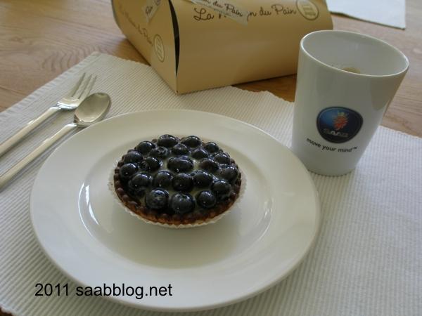 Schwedische Blaubeertarte & Kaffee