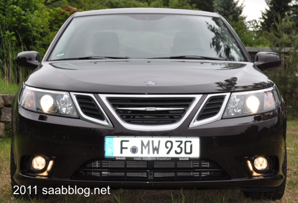Saab 9-3 TTID, Powerdiesel, starker Auftritt