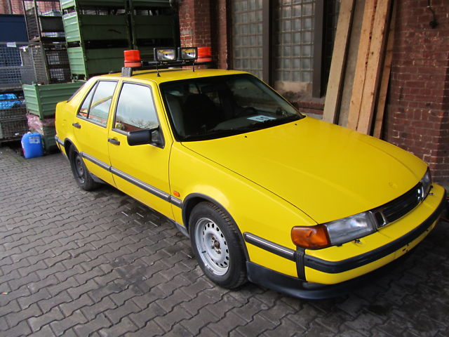 Saab 9000 Friction Tester