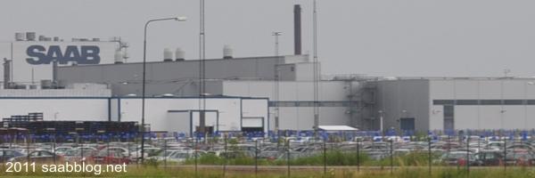 Saab usine Trollhättan