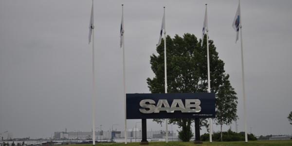 Rabenscharzer Himmel über Saab