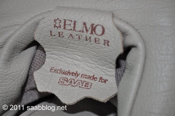 Saab 9000 CSE, eersteklas Elmo-leer van hoge kwaliteit
