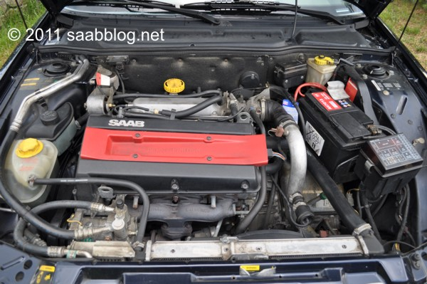 Saab 9000 CSE, Trionic, Turbo