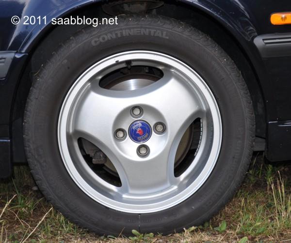 "Saab 9000 CSE Alufelgen, 16"""