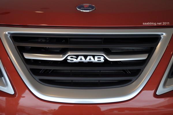"Saab 9-3 ""Independence Day Edition"", novo cooler com logotipo modificado"