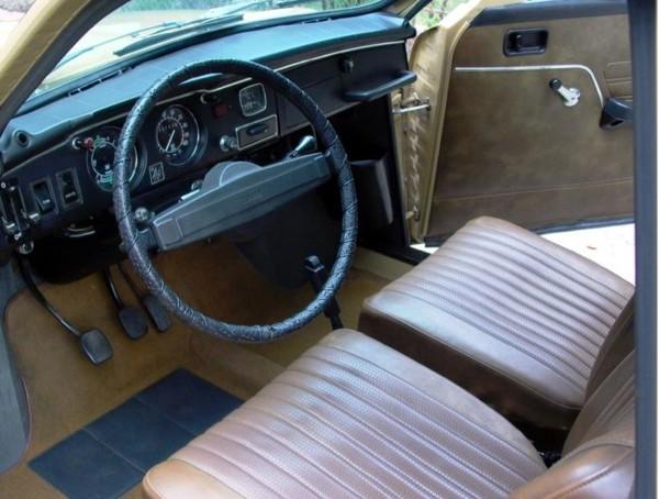 Saab 95, Innenraum wie neu