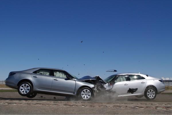 Saab 9-5 краш-тест
