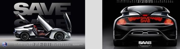 Saab-kalenderbladen Juli 2011