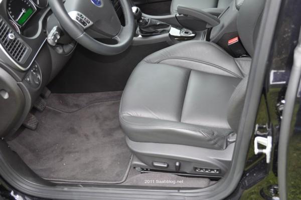 Saab 9-3 TTiD4 assentos Aero elétricos