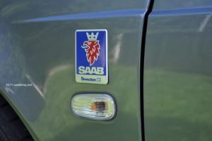 Saab, märket med griffin