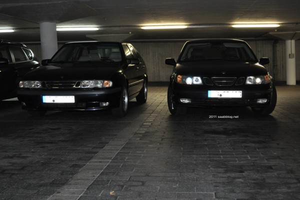 Saab 9-5 de Silvio, Saab 9000 de Tom