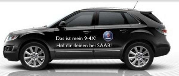Propuesta para el nuevo Saab 9-4x de Mark