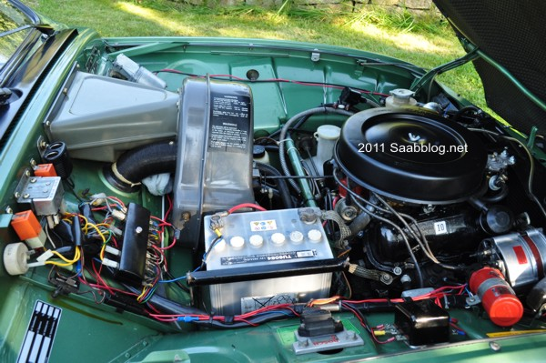 Saab 96 GL, motor V4 da Ford