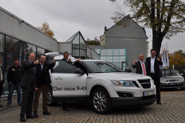 Saab Zentrum Chemnitz: Pressavdelning