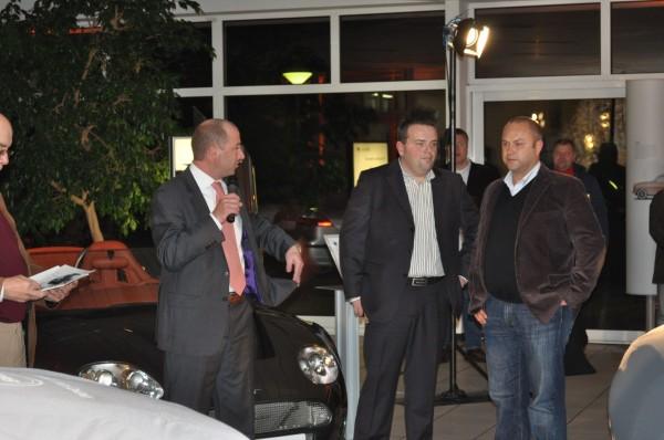 Saab Deutschland Chef Jan-Philipp Schuhmacher spricht
