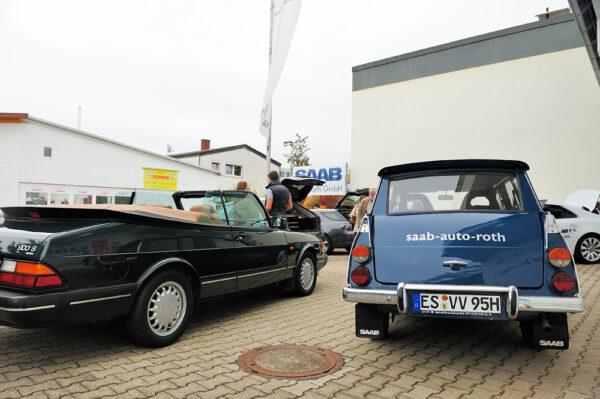 Saab 95 e Saab 900 Cabriolet