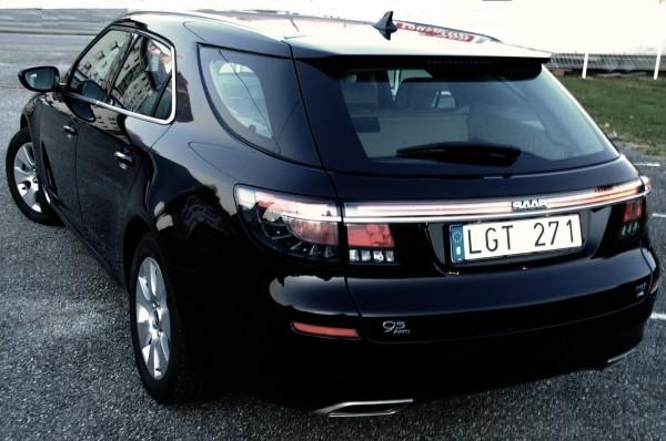 """""""Mein Saab 9-5 Sportkombi"""" - jetzt unterwegs in Frankreich"""