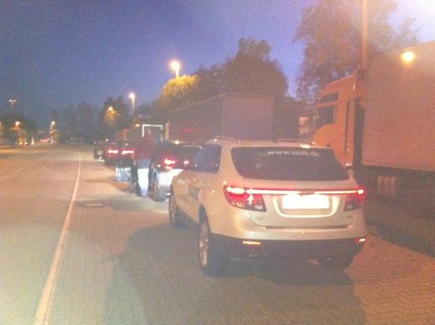 Willkommen in Deutschland ! Saab 9-5 Sportkombi und Saab 9-4x sind gelandet.