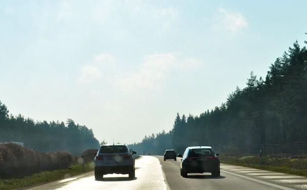 Saab 9-4x e Saab 9-5 carro esportivo a caminho de Malmö
