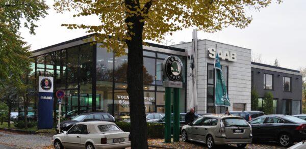 Saab Weber Berlin, en av de vackraste byggnaderna i turnén