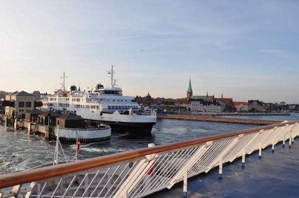 Tschüß Dänemark - Fähre nach Schweden