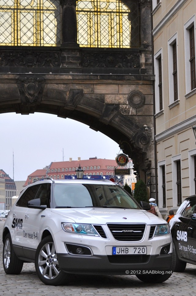 Saab 9-4x in Dresden
