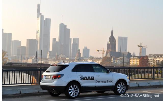 Somente sonhou? Saab 9-4x em Frankfurt