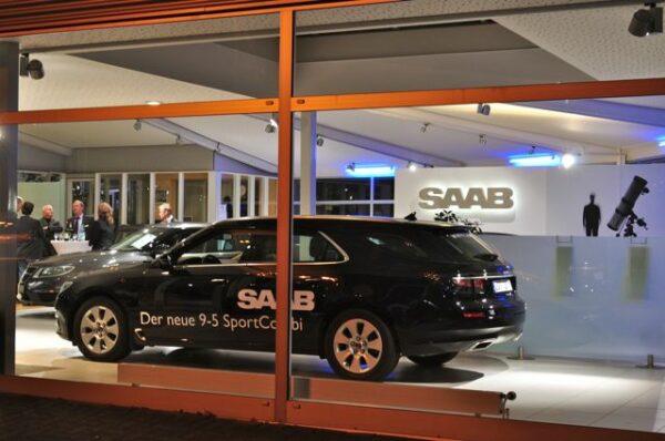 Tuta sportiva Saab 9-5, Volker Möhler GmbH, Brema