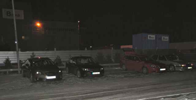 Saab Convoy: Start in Stockholm