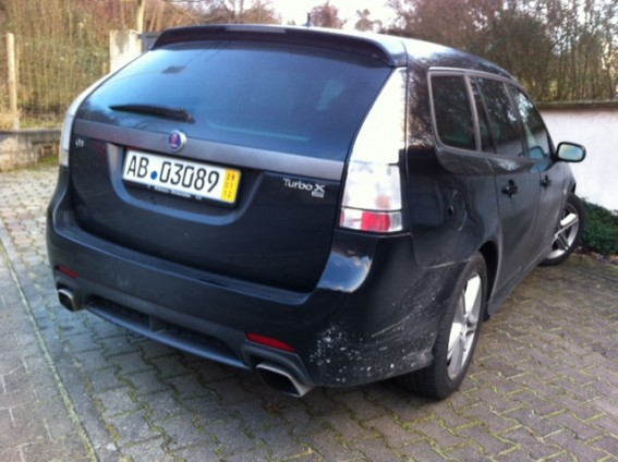 El negro está de vuelta: Tom's Saab Turbo X