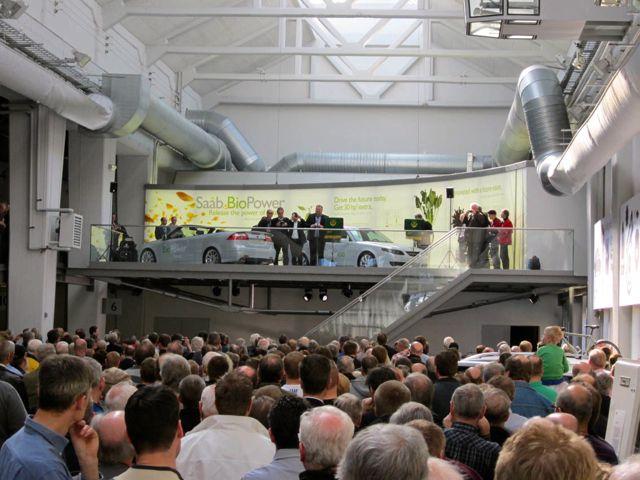 Apertura del Museo Saab Trollhättan