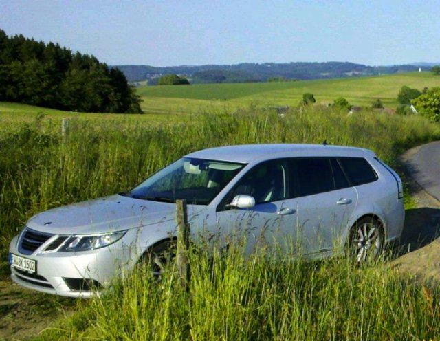 Saab 9-3 Sportkombi, die schöne EVE