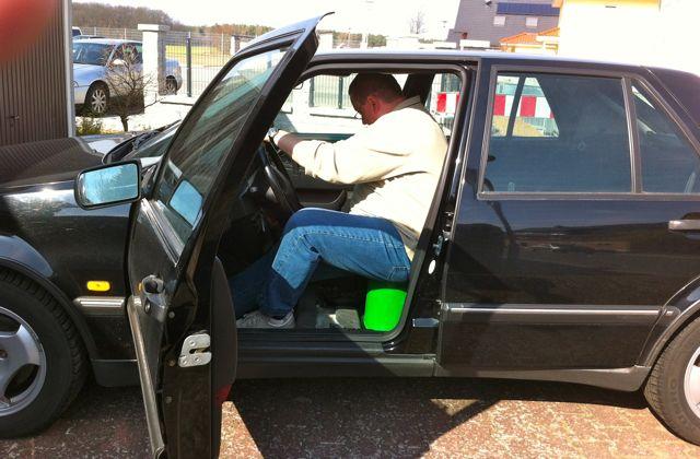 Achim kiest voor de groene ... Een nieuwe rijervaring!