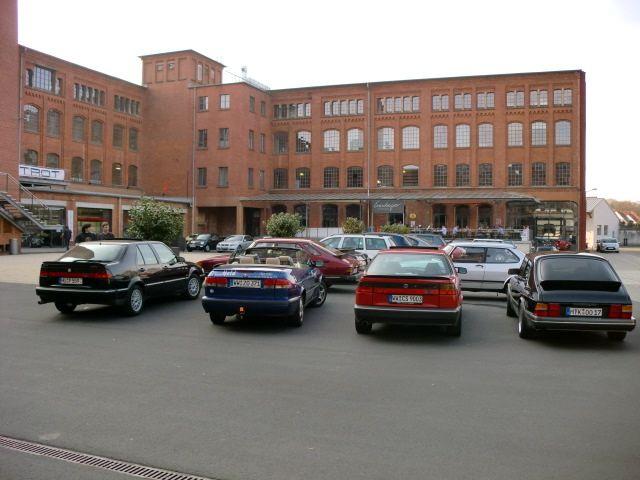Saab 9000, Saab 900, Saab Meeting classic city Frankfurt