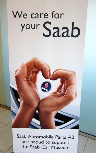 Saab Parts AB: Kommt zusammen was zusammen gehoert?