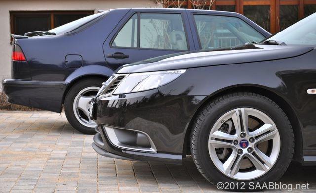 Saab Turbo X atende Saab 9000